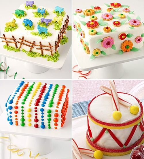 ideas para decorar tartas de cumpleaos