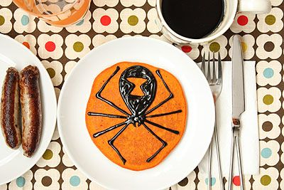 pancake halloween 3 Pancakes decorados para Halloween