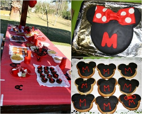 Fiesta infantil Mickey y Minnie Mouse