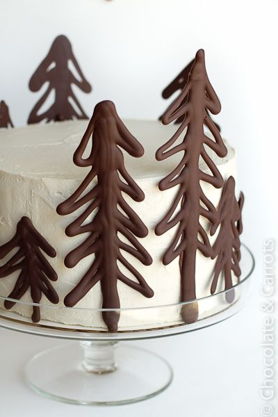 "Tarta ""Bosque de chocolate"""