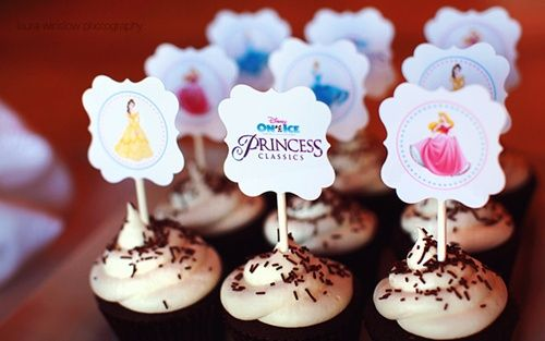 Fiesta de princesas Disney… ¡ideal!