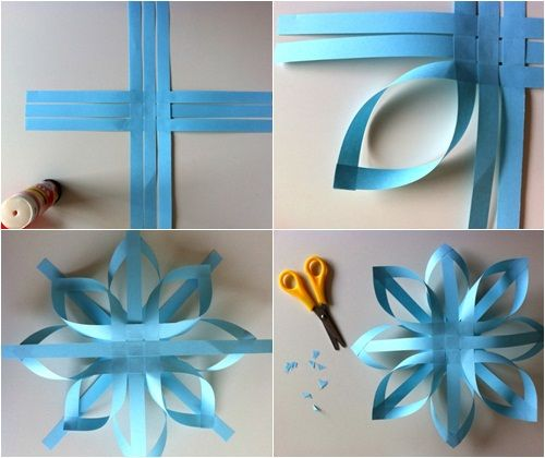 adornos de navidad estrellas de papel fciles 1 Adornos de Navidad: estrellas de papel fciles