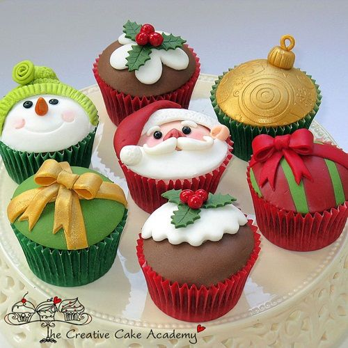 Wonderful Cute Christmas Cupcakes 500 x 500 · 52 kB · jpeg