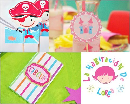 decora tu fiesta juguetes de lorea Preciosos diseos para fiestas infantiles
