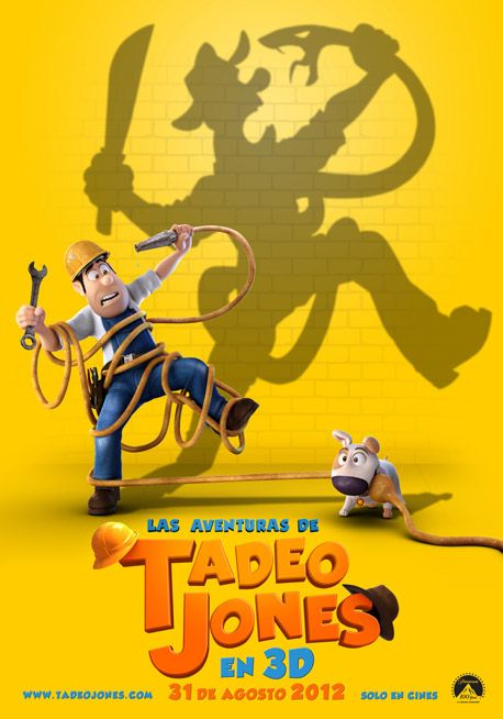 Tadeo Jones1 Las aventuras de Tadeo Jones