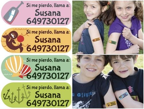 Supersorteo de tattoos de fiesta o seguridad de Fun Choices 3