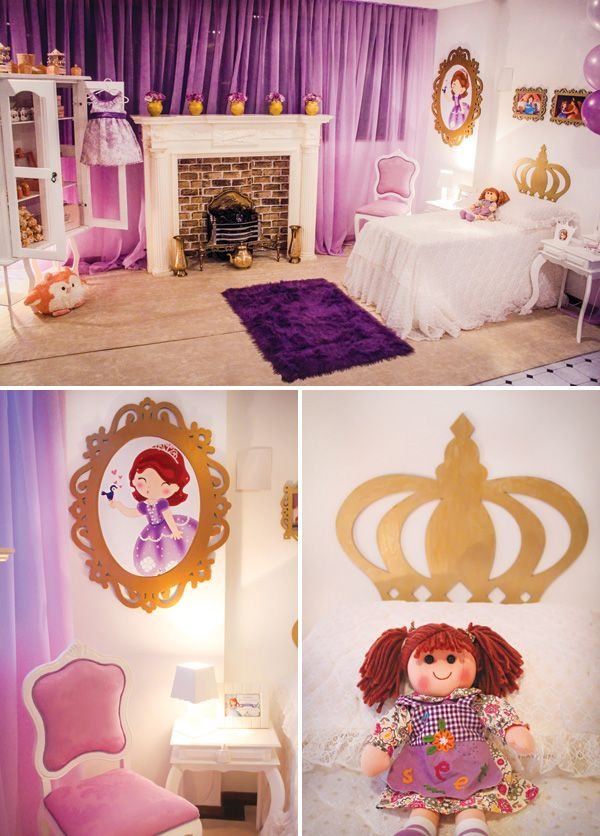 Princess Sofia The First Bedroom