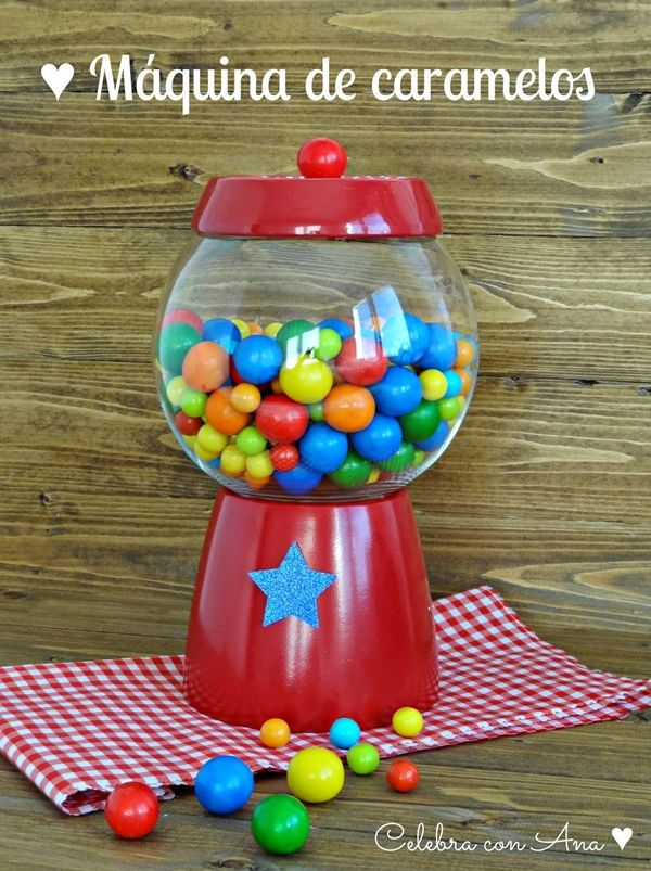 DIY CANDY MACHINE
