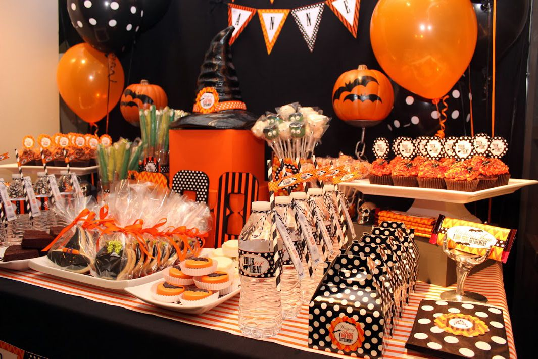 Decoracion Halloween Infantil ~ Decoraci?n de Halloween para peque?as brujas  Fiestas y Cumples