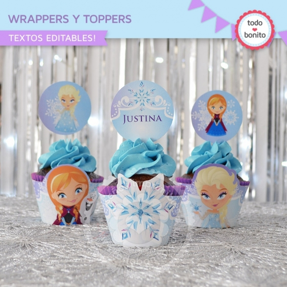 kit imprimible de frozen disney