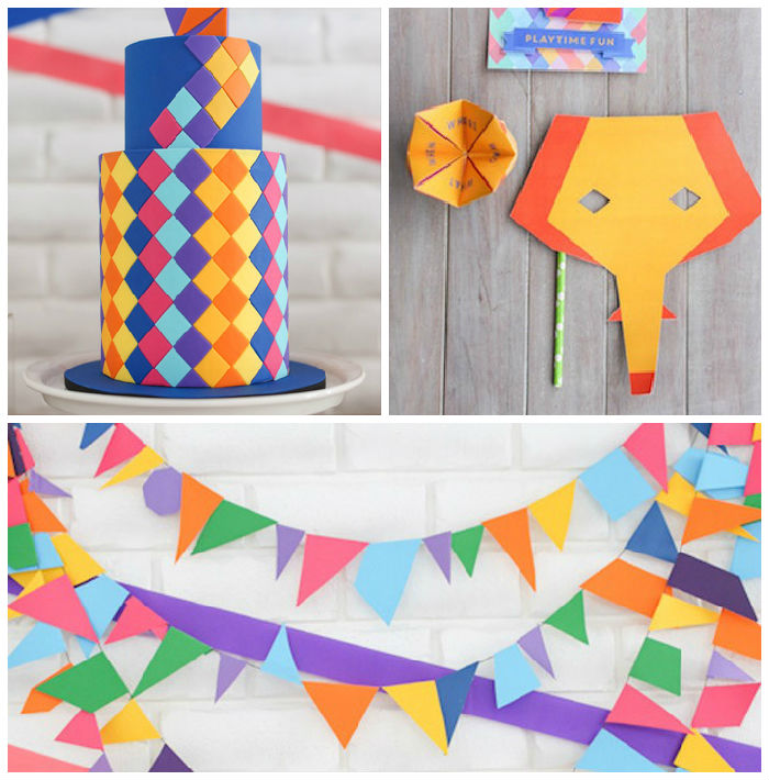 ideas para decorar un cumpleaos de animales original