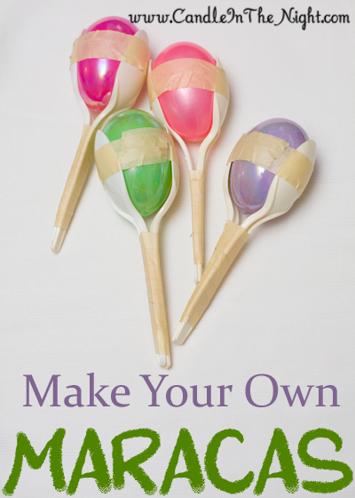 Make Your Own Maracas Craft for Kids