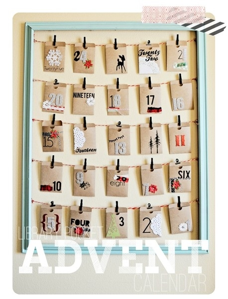 15 calendarios de adviento diy 1