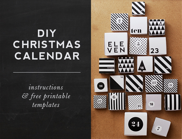 15 calendarios de adviento diy 12