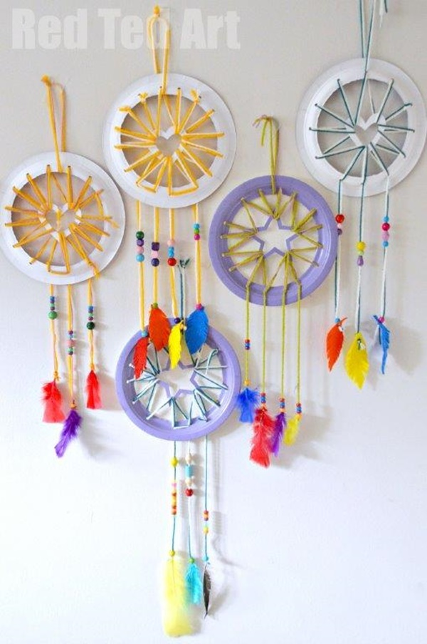 10 ideas originales con platos de papel fiestas y cumples - Manualidades con papel craft ...