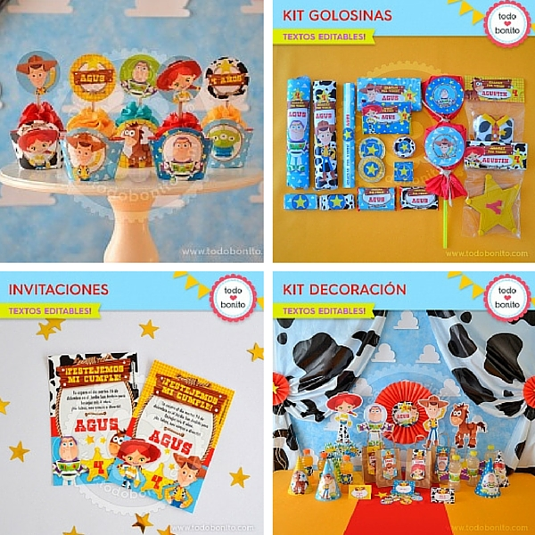fiesta toy story imprimibles