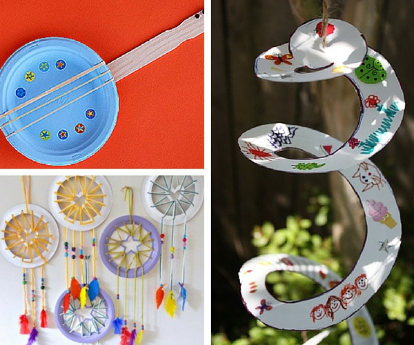 10 ideas originales con platos de papel fiestas y cumples - Papel de pared para bebes ...