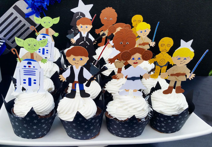 fiesta de star wars toppings
