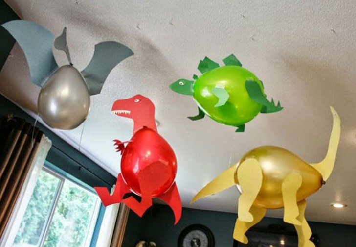Ideas originales para decorar con globos fiestas y cumples for Fiestas ideas originales