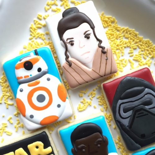 Galletas Ideas Decoración Glaseado Star Wars