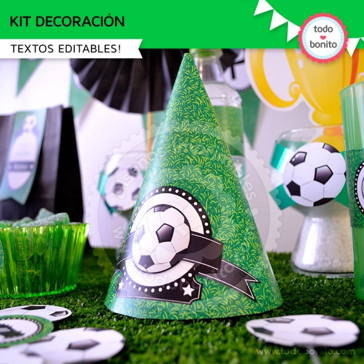 kit imprimibles para fiesta tematica de color verde ideas