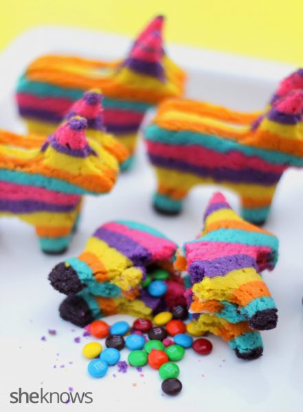 Receta de Galletas Piñata Multicolor 1