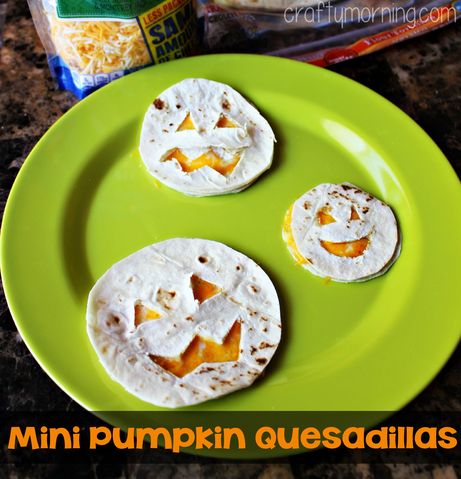 Quesadillas especiales para Halloween