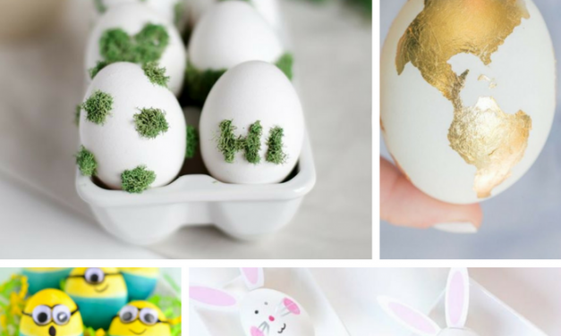 10 Ideas para Decorar Huevos de Pascua