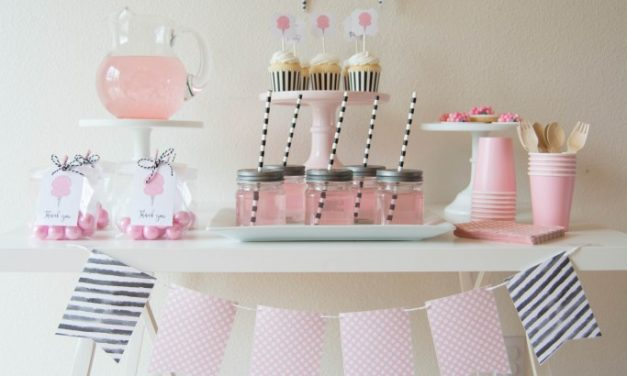 affordable fiesta infantil de algodn de azcar ideas para decorar with bebe nia decoracion