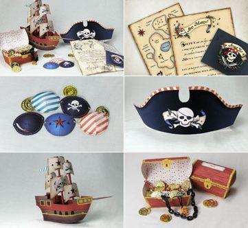 Fiesta infantil Pirata. Fiestas y Cumples.