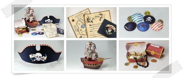 DIY: Ideas para fiesta Pirata