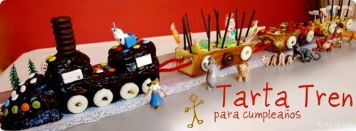 Tarta de cumpleaños chu-chuuu…