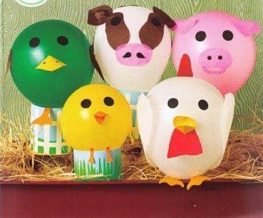 globos animales. Fiestas y Cumples