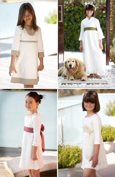 Vestidos de primera Comunión: De la dos a la doce
