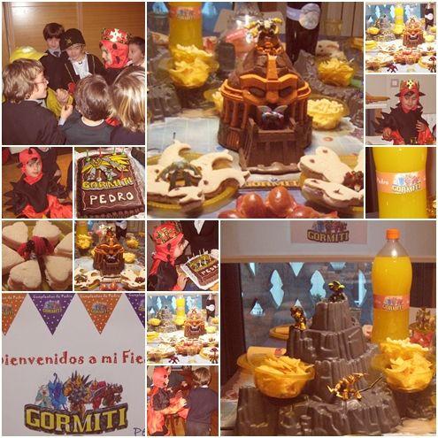 Fiesta de cumpleaños Gormiti