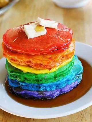 Postres inspirados en el arco iris