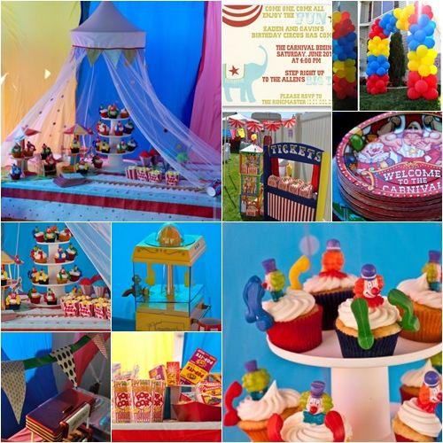 """Fiesta Temática """"un día en el circo"""""""