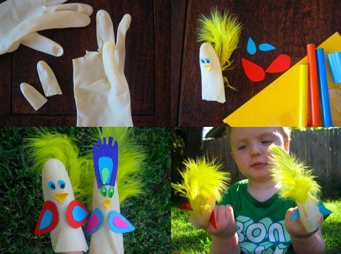 Marionetas de dedo divertidas