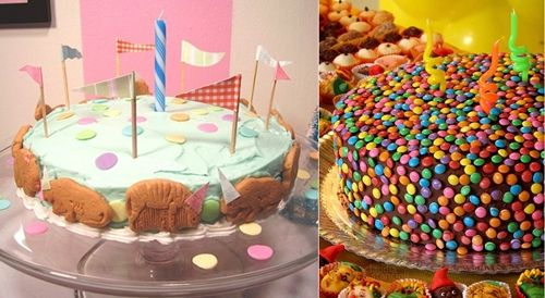 Tartas de Cumpleaños, más ideas para decorarlas