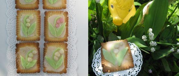 Inspiración: galletas primaverales muy cool