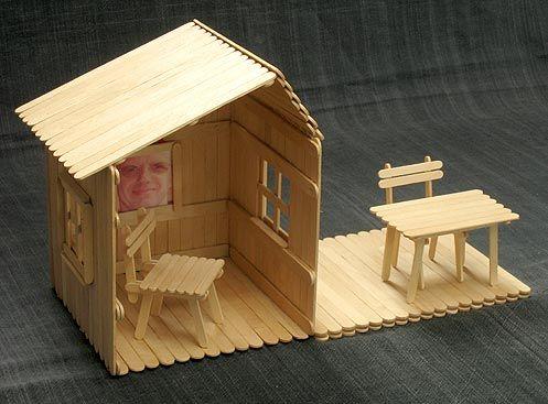 Construcciones con palitos, fáciles y creativas
