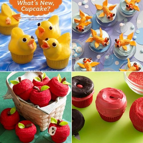Cupcakes creativos y sorprendentes