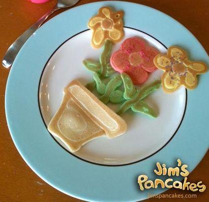 Pancakes creativos para niños (…y mayores)