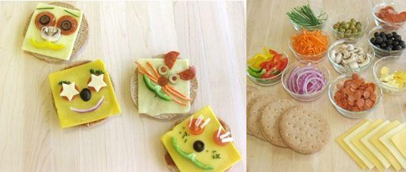 Pizzas infantiles con mucha personalidad
