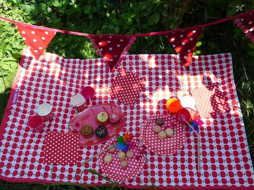 Topitos para una fiesta muy colorida