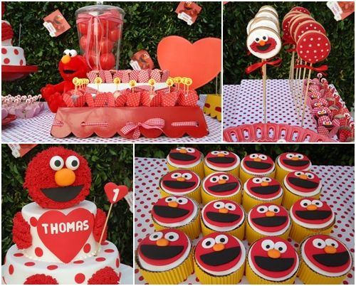 "Fiesta infantil de cumpleaños ""Elmo"""