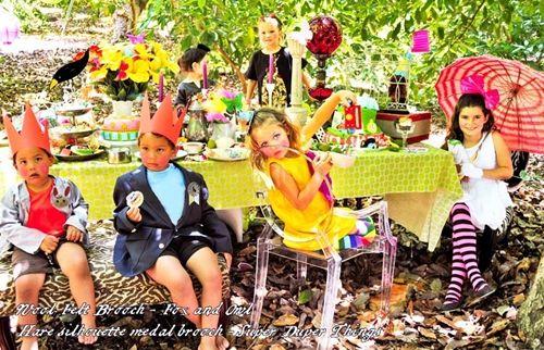 Fiestas infantiles llenas de color