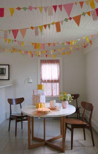 DIY: Guirnalda para fiestas multicolor