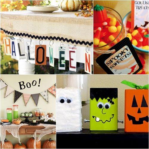 Más ideas para fiestas de Halloween