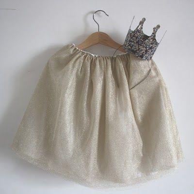 Disfraces infantiles: Princesa chic